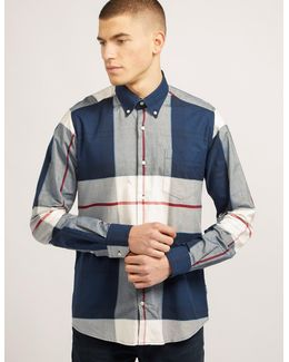 Kelso Oversized Check Shirt