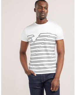 Stripe Logo Short Sleeve T-shirt