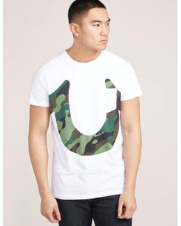 Camo Horseshoe Short Sleeve T-shirt