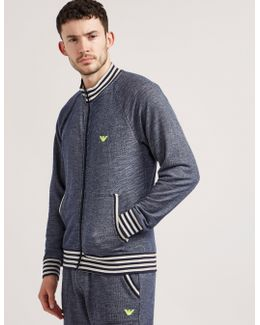 Terry Zip Sweatshirt