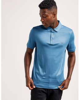 Sleek Short Sleeve Polo Shirt