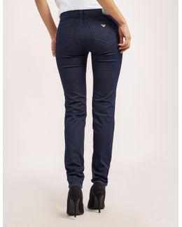 J28 Mid Waist Jeans