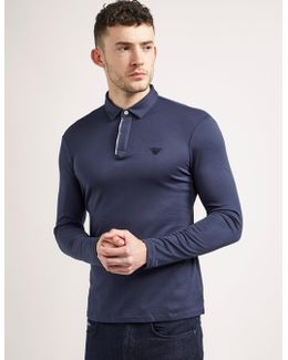 Mercerised Long Sleeve Polo Shirt