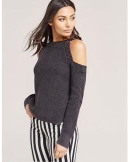 Dana Cold Shoulder Knit