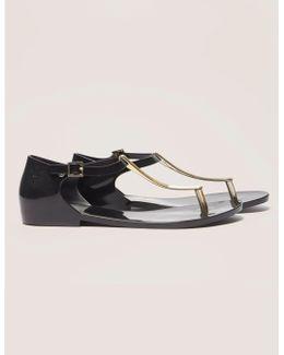 Honey Chrome Sandals