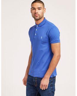 Short Sleeve Stretch Polo Shirt