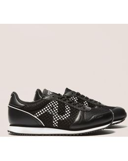 Mesh Panel Trainers