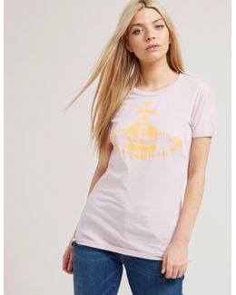 Anglomania Embroidered Orb Short Sleeve T-shirt
