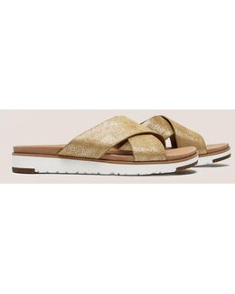 Kari Metallic Sandals