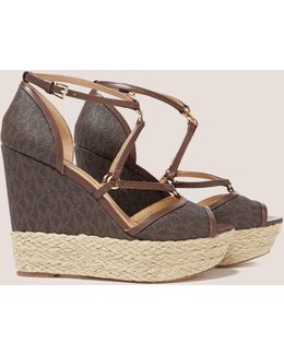 Terri Platform Wedge Sandals