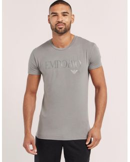 Gel Print Crew Short Sleeve T-shirt