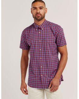 Barrett Check Short Sleeve Shirt