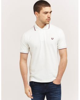 Made In England Tipped Polo Shirt