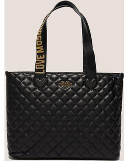 Quilted Shopper Bag