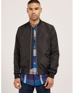 Water-resistant Bomber Jacket