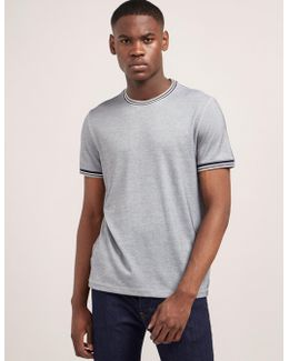 Tipped Short Sleeve T-shirt