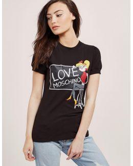 Short Sleeve Love Chalk T-shirt