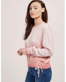 Ombre Track Sweatshirt