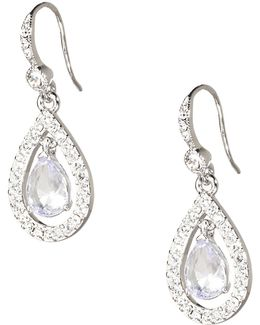 Simply Blue Briolet Drop Earring