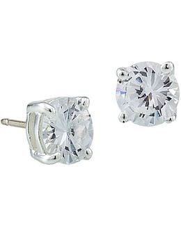 Small Cubic Zirconia Studs