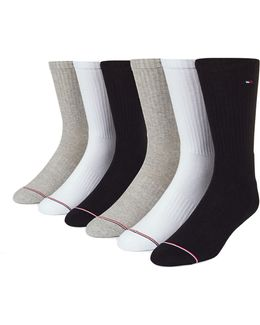 Six-pack Combed Cotton Blend Socks