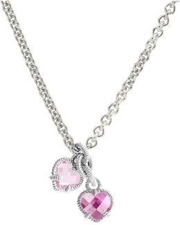 La Petite Twin Heart Necklace