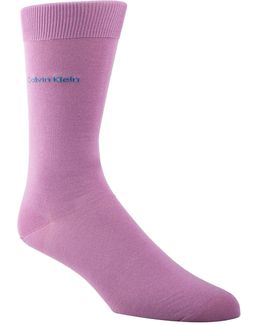 Mens Egyptian-cotton Blend Socks