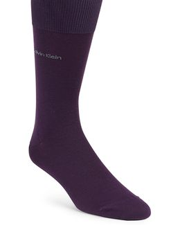 Egyptian Cotton-blend Socks