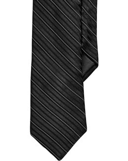 Striped Slim Tie
