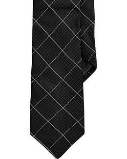 Grid Slim Tie
