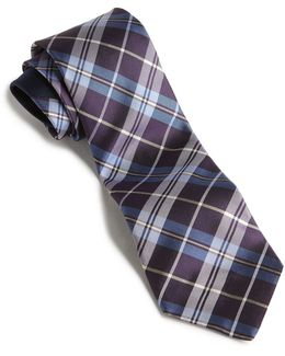 Plaid Core Tie