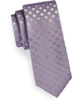 Tonal Neat Silk Tie