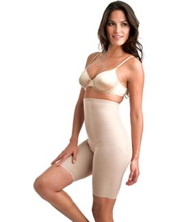 Shape With An Edge Hi Waist Extra Firm Control Thigh Slimmer