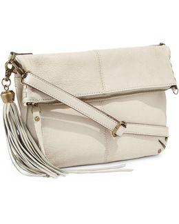 Del Rey Leather Foldover Bag