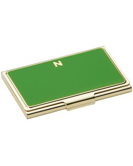 One In A Million Initial Business Cardholder N