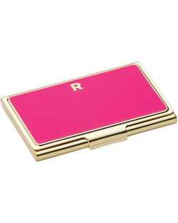 One In A Million Initial Business Cardholder R