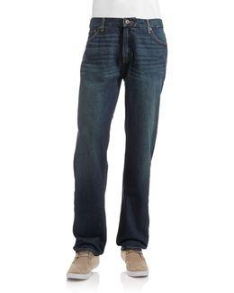 Campus Classic Straight Leg Jeans