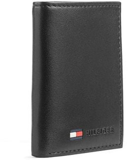 Trifold Leather Wallet