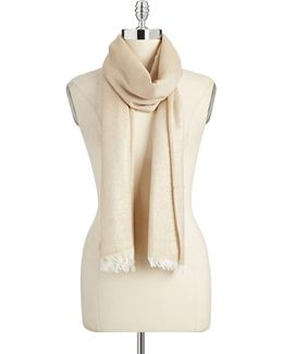 Solid Lurex Scarf