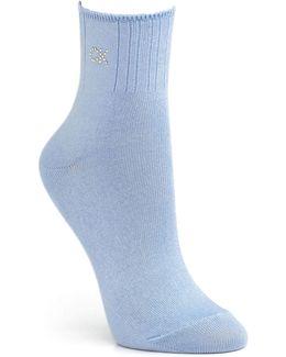 Crystal Logo Soft Touch Socks