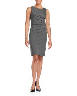 Starburst Sheath Dress