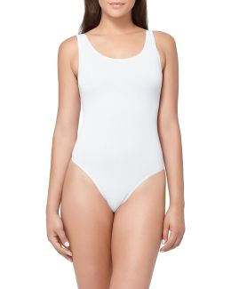 Yummie Ruby Scoop Neck Bodysuit
