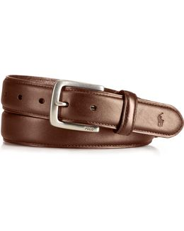 Leather Suffield Belt