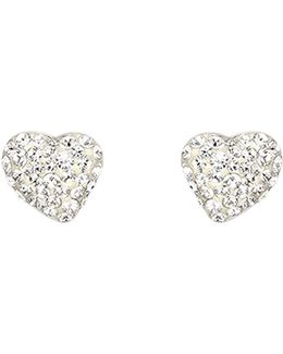 Alana Clear Crystal Pierced Earrings