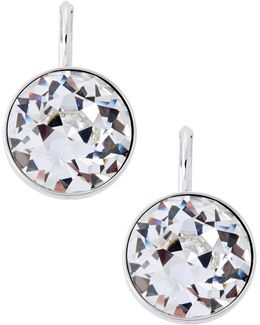 Bella Crystal Pierced Earrings