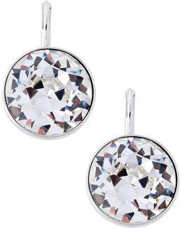 Bella Crystal Pierced Earrings