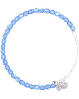 Sky Rock Candy Beaded Bangle