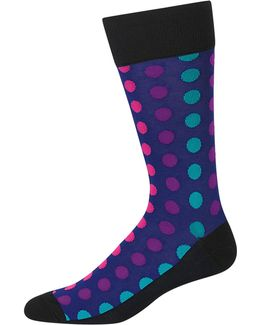 Black And Ombre Dots Slack