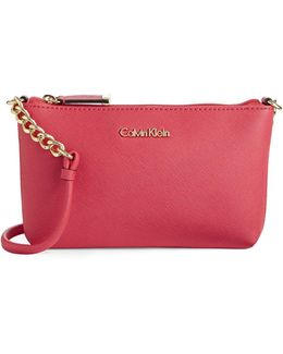 Compact Leather Crossbody