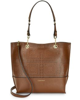 Sonoma Reversible Laser-cut Tote Bag